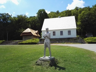 The birth house of Nikola Tesla. The replica of the original house. The photo is taken from ... https://commons.wikimedia.org/wiki/File:Birth_place_Nikola_Tesla.jpg