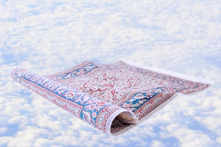 Magic Carpet to Navigate Deconstructing the Illusion ... Photo is taken from ... http://clipart-library.com/clipart/pTqrE5k8c.htm ... The story of Magic Carpet appears on many places when considering ancient history. Please see ... https://www.ancient-origins.net/myths-legends/history-magical-flying-carpets-006064 .... Please see also ... http://www.mit.edu/~kardar/research/seminars/Casimir2010/imagesWeb/Three%20ways%20to%20levitate%20a%20magic%20carpet%20-%20physics-math%20-%2006%20August%202007%20-%20New%20Scientist.pdf