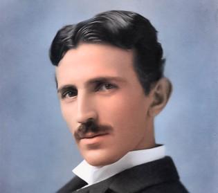 Nikola Tesla, The photo is taken from ... https://www.spectator.co.uk/2018/06/the-electrifying-genius-of-nikola-tesla/