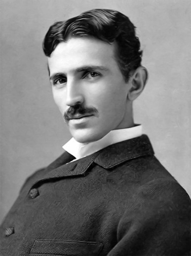 Nikola Tesla around 1890., when he was about 34 years of age. Photo Credit-Author ... Napoleon Sarony. The photo is taken from ... https://commons.wikimedia.org/wiki/File:Tesla_Sarony.jpg